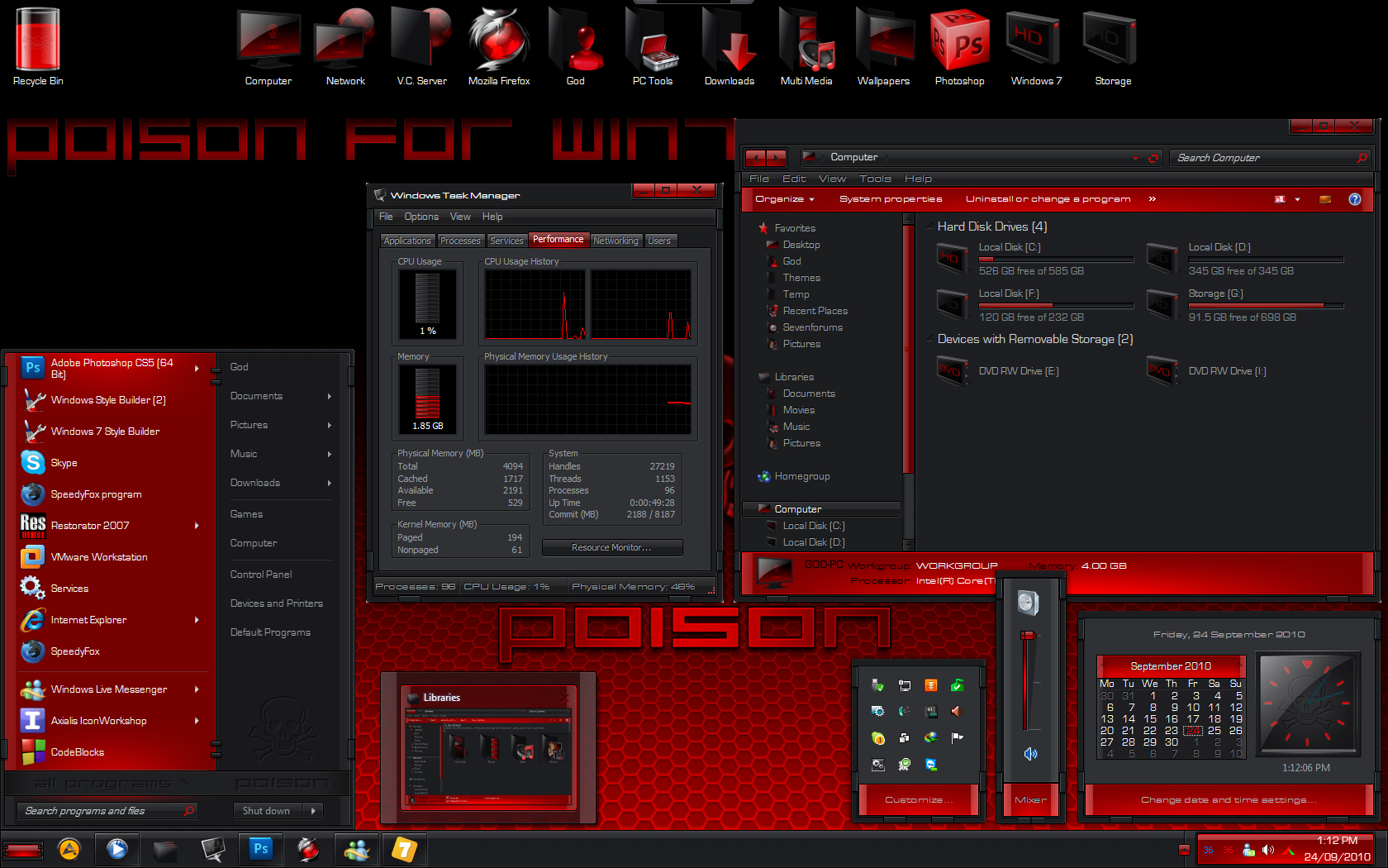 Windows 7 gun themes for windows vegaloline.
