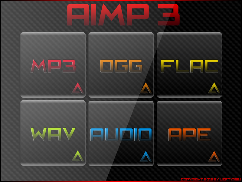 Aimp 3 Icon Set By Lefty1981 Page 2