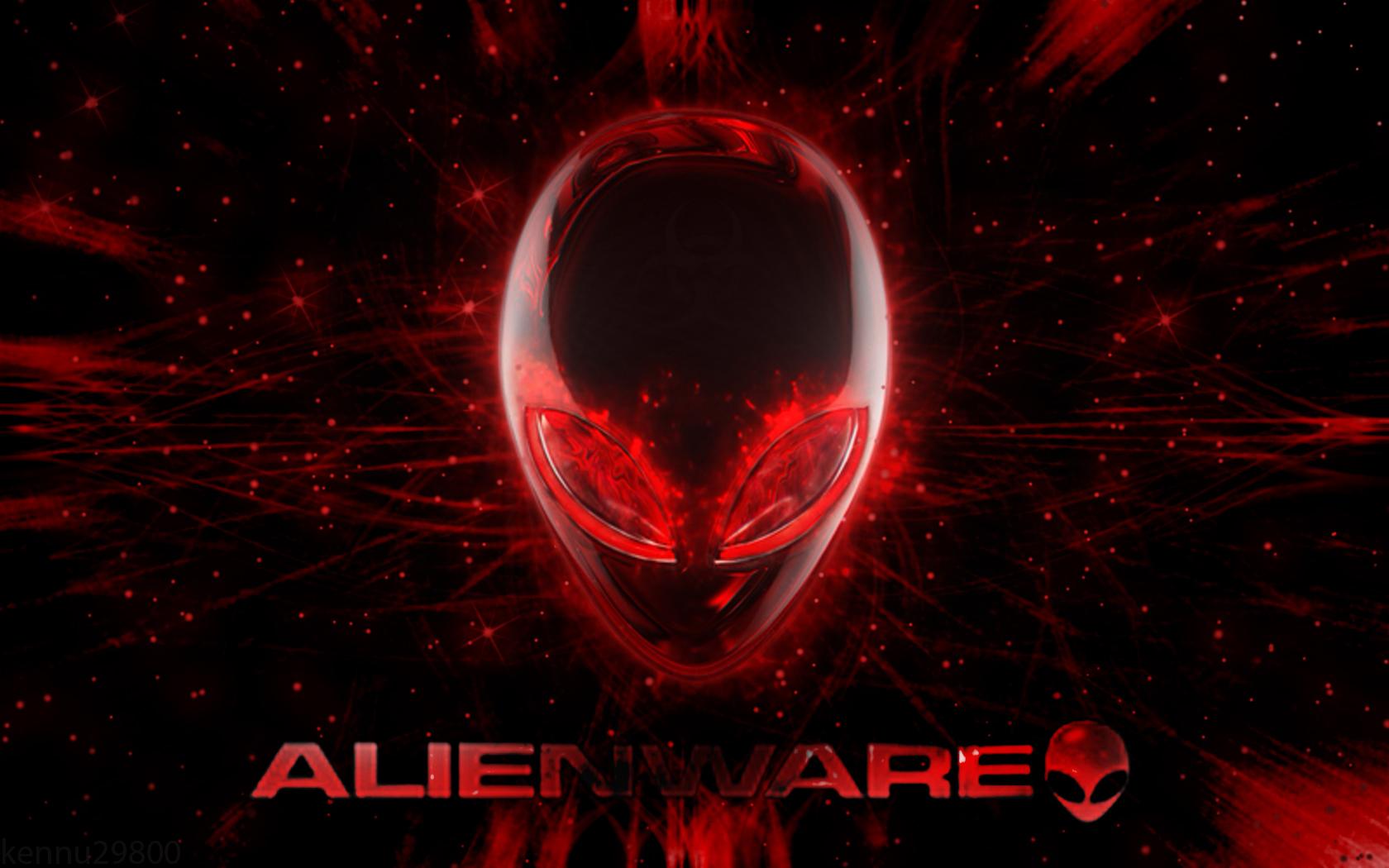 alienware desktop background red - photo #24