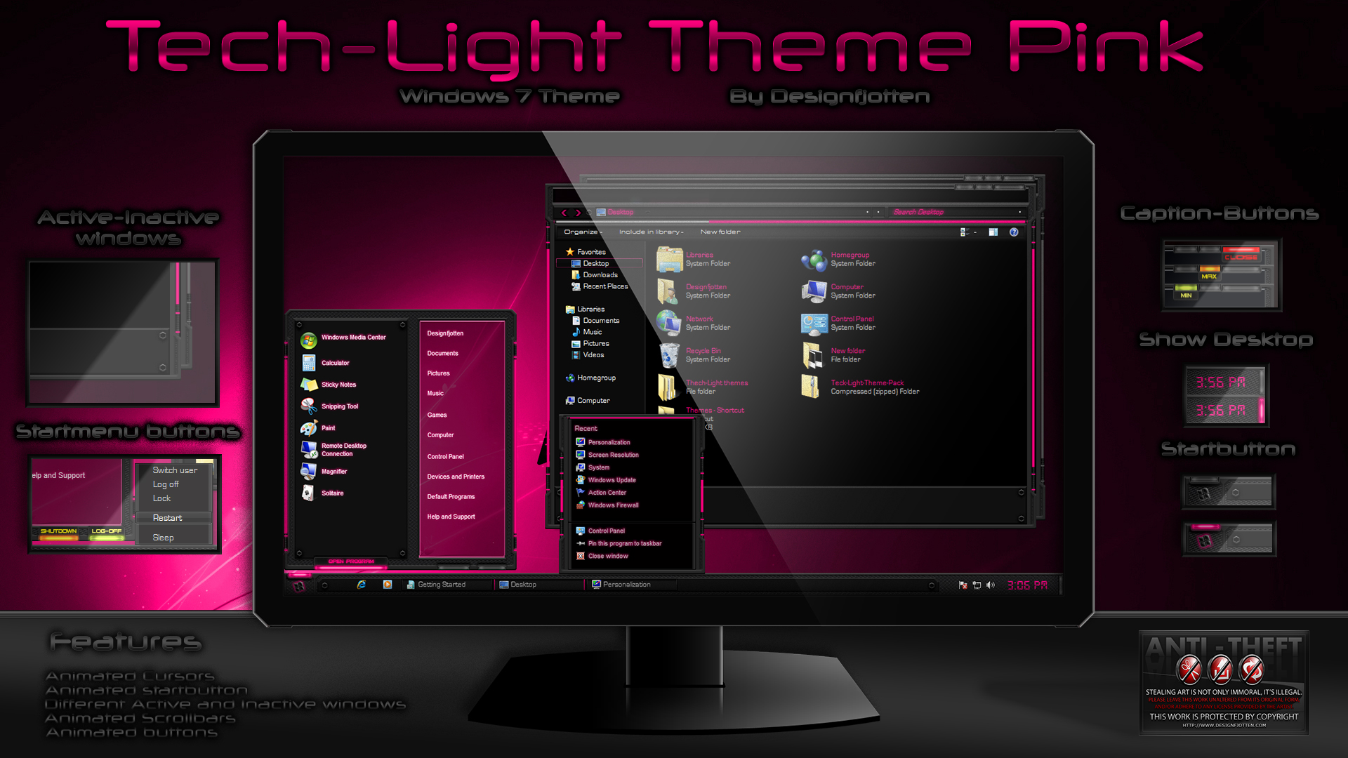 Lost theme for windows 7 for free download 3d