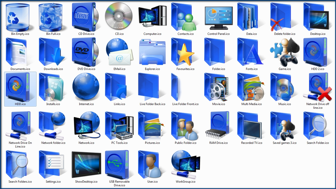 7tsp Icon Packs For Windows 7 - Page 10