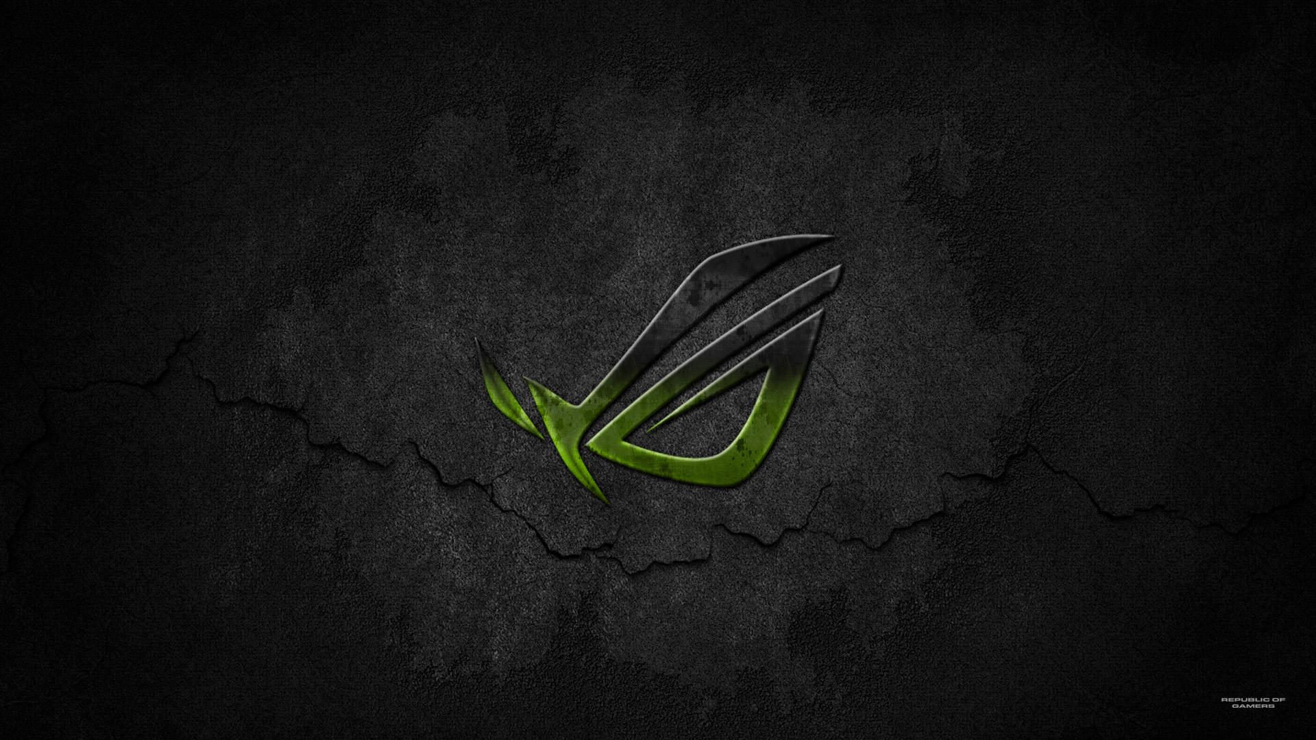 Asus Green Wallpaper: Premium ROG Wallpaper