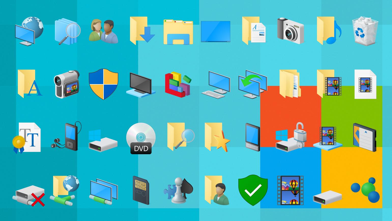 7tsp Windows 10 Original System Icon pack